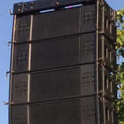 PA hire - speakers & systems