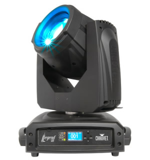 Chauvet Legend 230SR beam left facing view