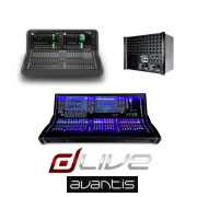 Allen & Heath dLive S5000 + DM48 + Avantis Front Of House & Monitor Desk Package